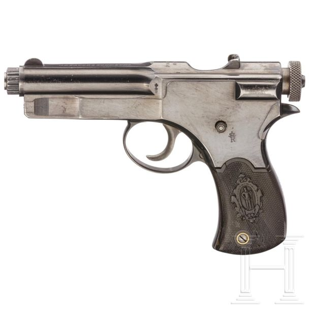 A Roth Sauer pistol for the colonial police force of Deutsch Südwestafrika Cal. …