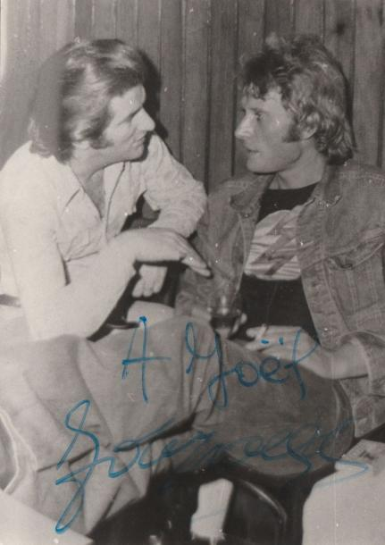 Johnny Hallyday Ensemble de 78 photos de presse sur Johnny Hallyday. Tirages d'époque…