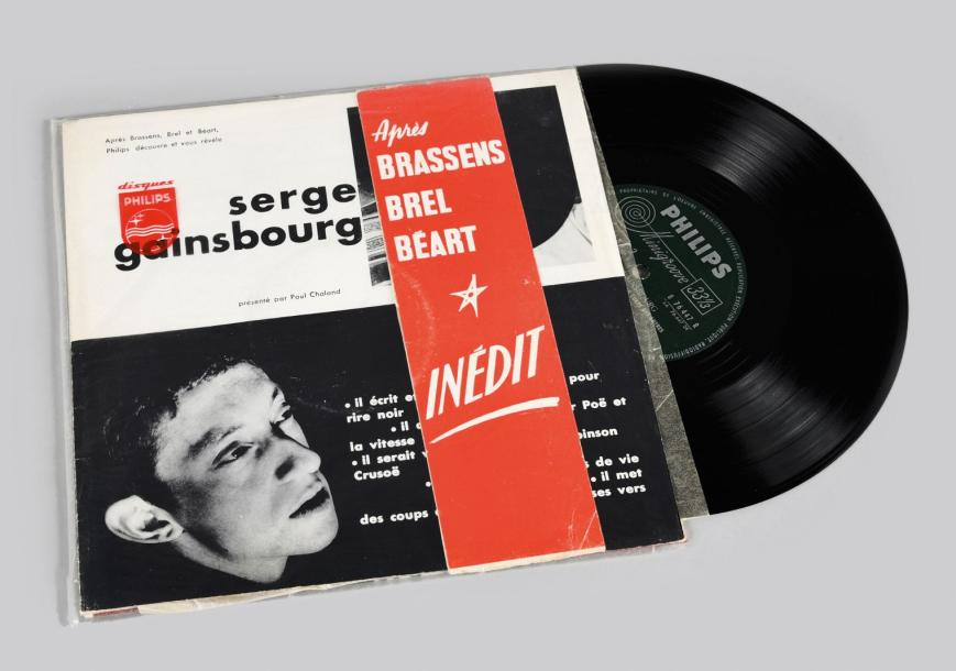 Serge Gainsbourg. 1958 Du Chant À La Une!... 25 cm. Philips 76.447R. Version promotionnelle…