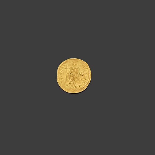 JUSTINIEN Ier (527 565)  Solidus. Antioche. 3,95 g. 20 siliques OB*+*.  Son bust…