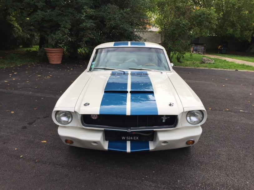 FORD Mustang Fastback configuration Shelby Gt350R – 1965 Importante restauration…