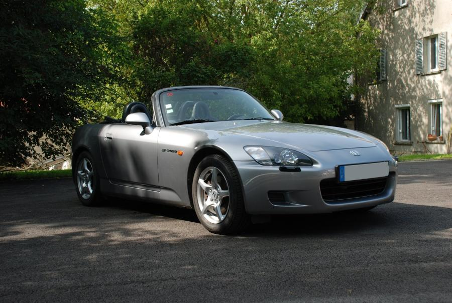honda s2000 roadster 1999 gris argent m tallis sellerie noire moquettes. Black Bedroom Furniture Sets. Home Design Ideas