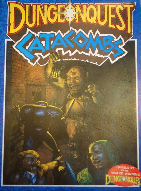 Games Workshop Dungeonquest: 1st edition base game +Dungeonquest: Catacombs exp…
