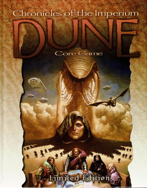 Last Unicorn Games Dune Chronicles of the Imperium Role Playing Game Core Rulebo…