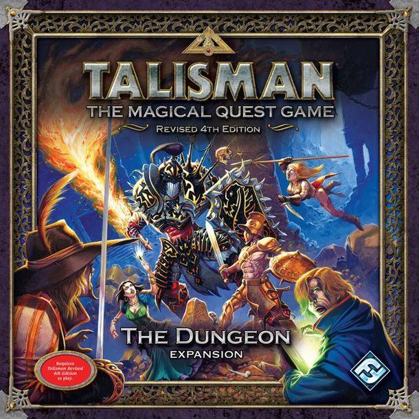 Ralph Horsley Original Drawing Talisman 4th Revised Edition: The Dungeon Box Cov…