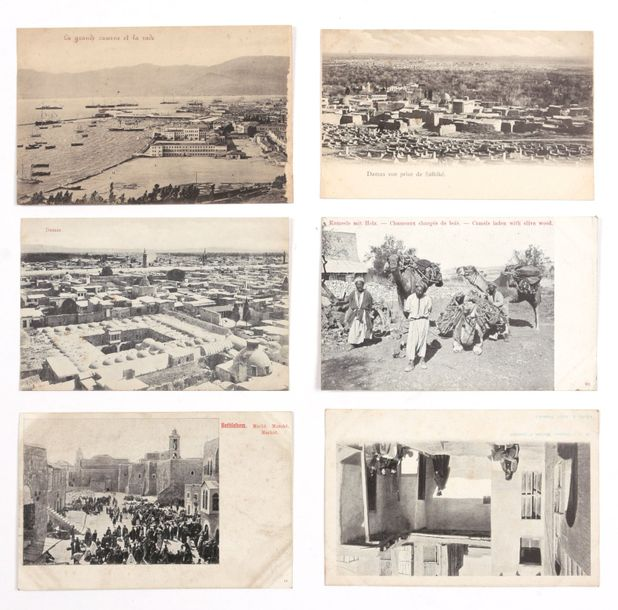 [POSTCARDS] Holy Land and Turkey  Collection of ca. 100 postcards, views in Jeru…
