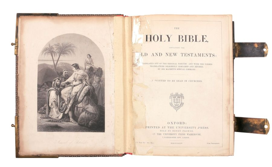 [HOLY BIBLE] The Holy Bible, containing the Old and New Testaments: translated o…