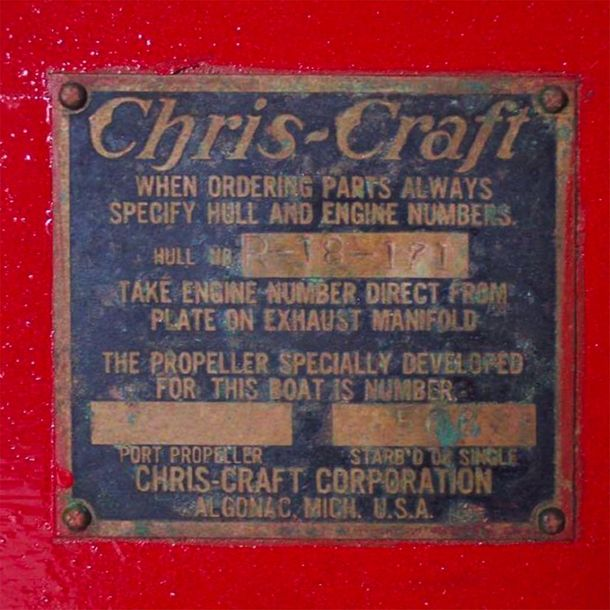 Chris Craft Riviera  Made in 1949 Chris Craft Riviera    Produced between 1950 a…