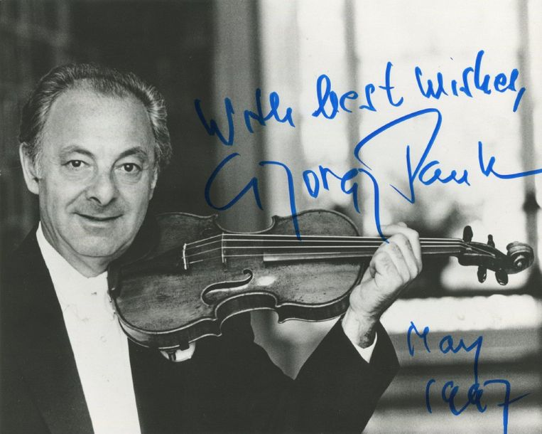 CLASSICAL MUSIC: Selection of signed postcard photographs and slightly larger, a…
