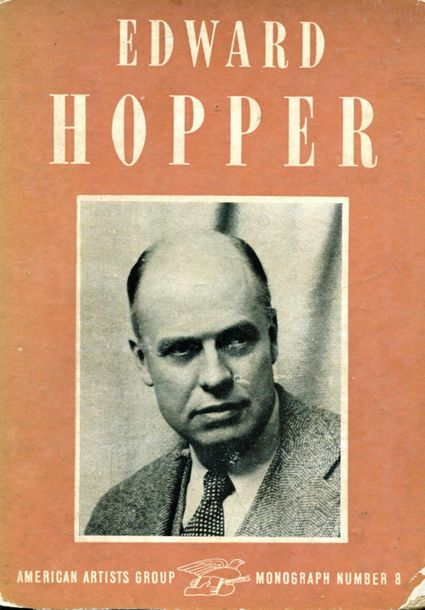 HOPPER EDWARD: (1882 1967) American Painter. Book signed and inscribed, being a …