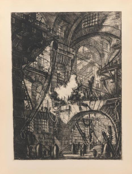 Gian-Battista PIRANESI (1720 - 1778). Les Prisons imaginaires. Monaco, Club International…