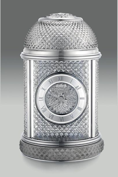 Patek Philippe A very fine, attractive and rare Baccarat crystal mechanical dome…