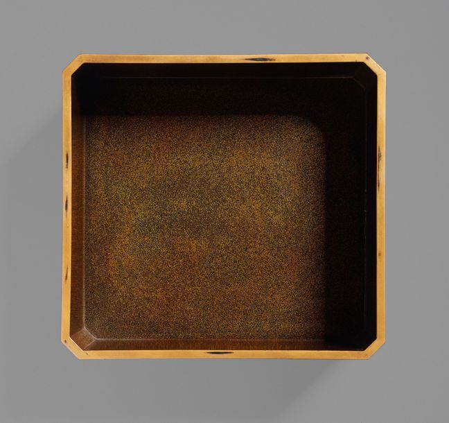 A JAPANESE LACQUER BOX Japan, Meiji period (1868 1912) to Taisho period (1912 19…