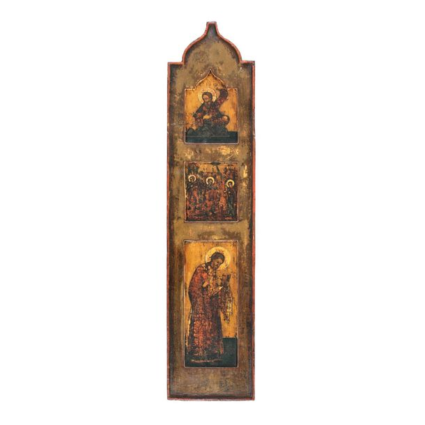 """""""The Holy Prophet Joseph, the Birth of the Blessed Virgin Mary and Saint Joachim…"""
