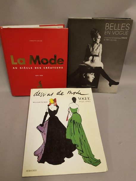 "MODE MODE  3 vol   "" Belles en Vogue, collection photographiques de 1925 à nos j…"