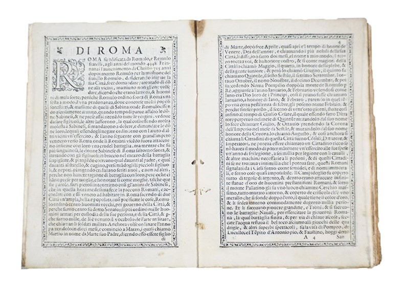Description of Africa and Asia in the 16th century. DE SOLIS. L' origine di molt…