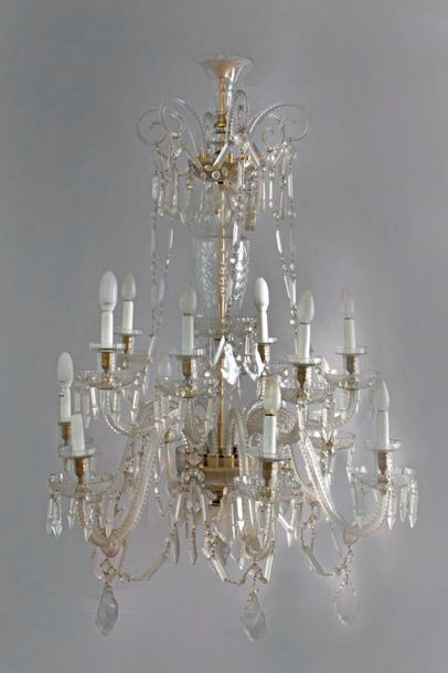 A twelve light Marie Therese chandelier