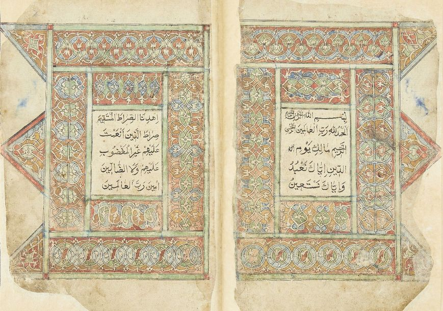 A Qur'an, Central Asia, 19th century, 333ff., with 13ll. Of neat black naskh per…
