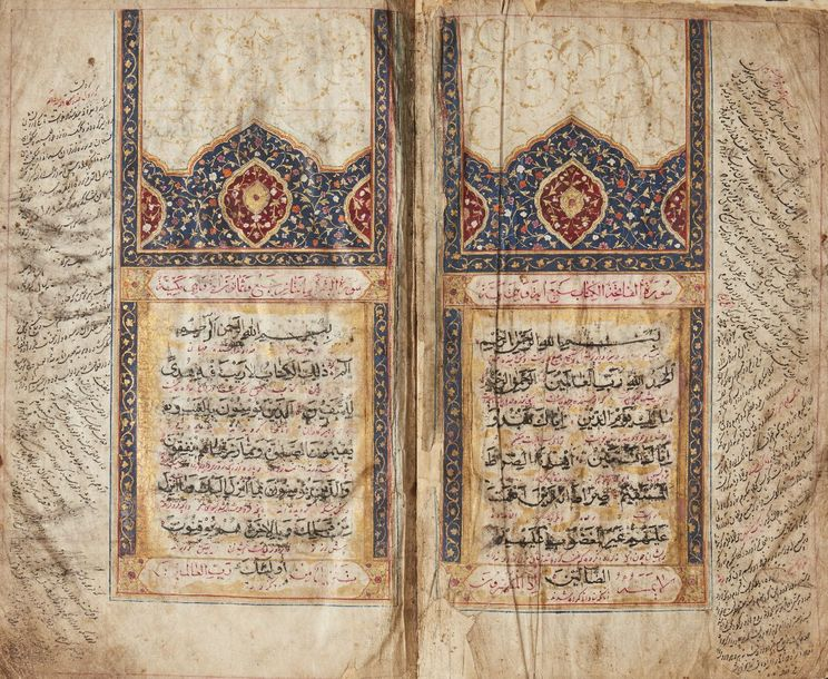 A Qur'an, Iran or Central Asia, first haf 19th century, 344ff., Arabic manuscrip…
