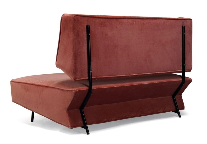 Ico Parisi (1916 1994), a unique sofa, commissioned for a private residence in C…