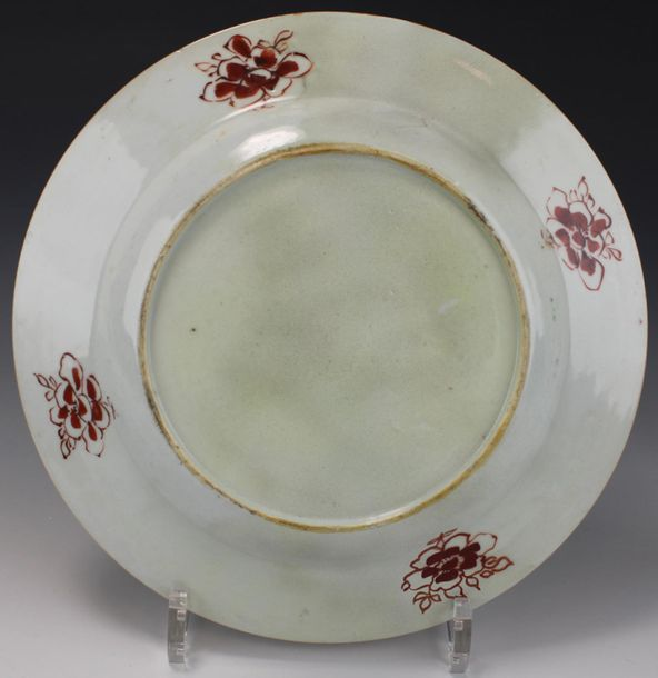 Six floral famille rose plates Six floral famille rose plates, Qianlong period, …