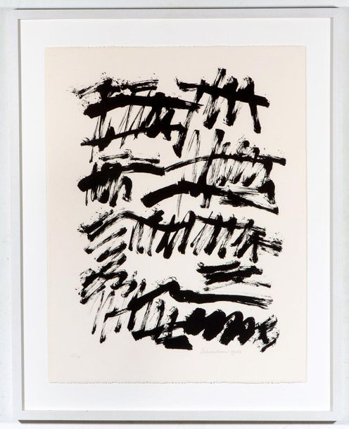 Jan Schoonhoven (1914 1994) Untitled, signed in pencil and dated 'Schoonhoven 19…