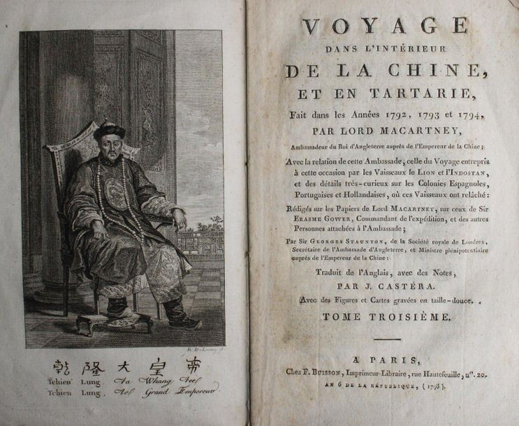 [TRAVEL] – COLLECTION of 6 17th / 19th cent. French works in 11 vols., mainly re…