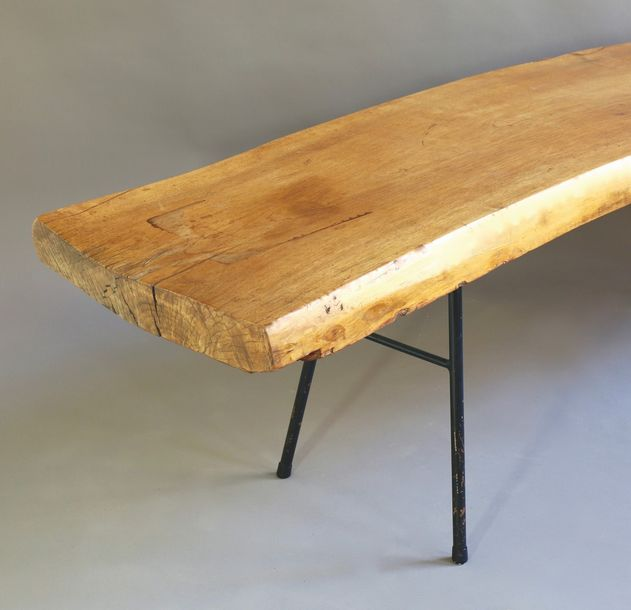 Large XL Tree Trunk Coffee Table Large XL tree table / coffee table. Design 1950…