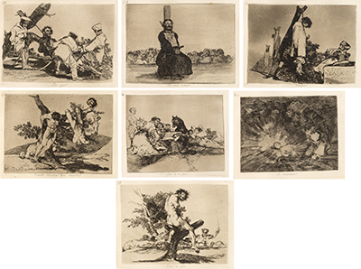 The complete set of 80 prints (etching, aquatint, drypoint, burnisher, burin and…