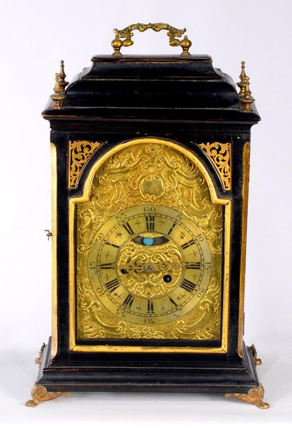 ALTDEUTSCHE CLOCK Austria  2nd half of the 18th century  Table striking clock in…