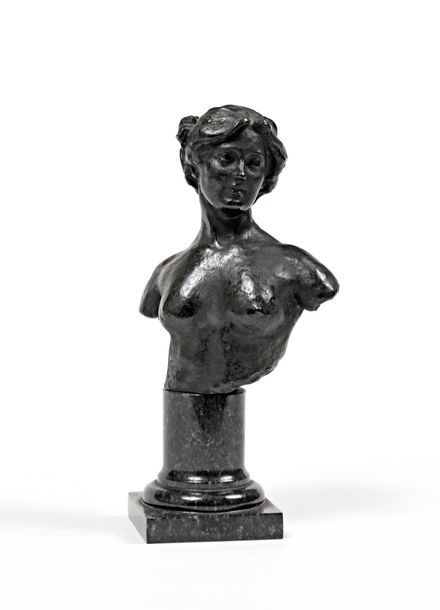 "Paul PAULIN (1852 1937)  ""Isadora Duncan (1877 1927)""  Belle édition en bronze d…"