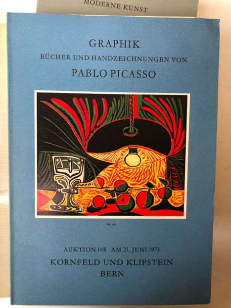 Lot comprenant:  Modern Kunst 4 volumes : Auctoin n° 145; 147, 153, 155  Dessins…