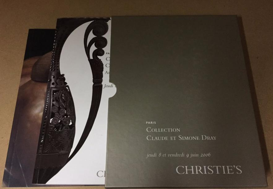 Christie's 2006, Catalogues Collection Dray. En emboitage