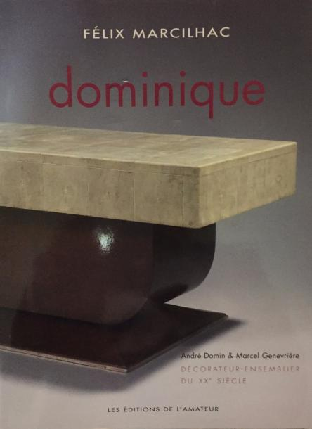 F.MARCILHAC Dominique, Les Editions de l'Amateur, 2008