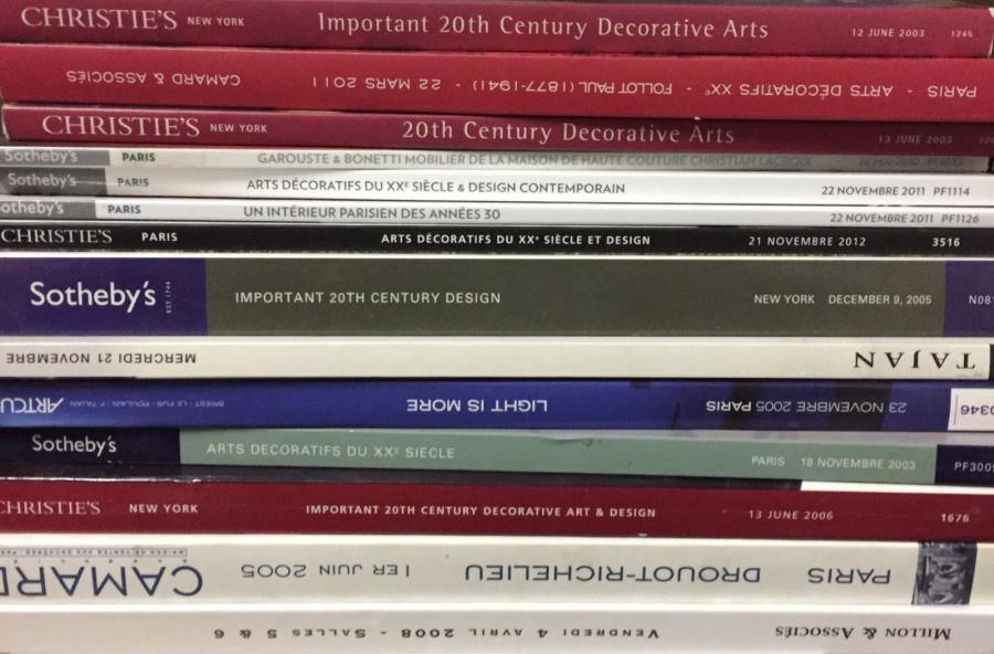 Christie's, Sotheby's, Artcurial, Tajan, Million, Camard 14 catalogues de vente…