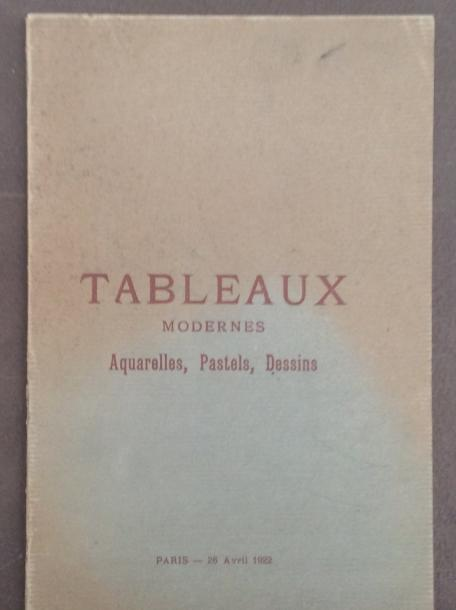 16 catalogues anciens de 1920 à 1922  Collections : Magin, Worch, Brasseur, Guerin,…