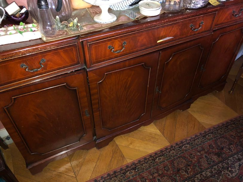 buffet d'enflade, style anglais moderne