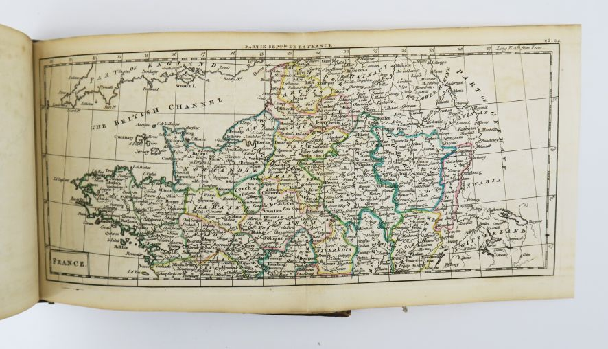 DURY (Andrew). A new, general, and universal atlas containing forty five maps. E…