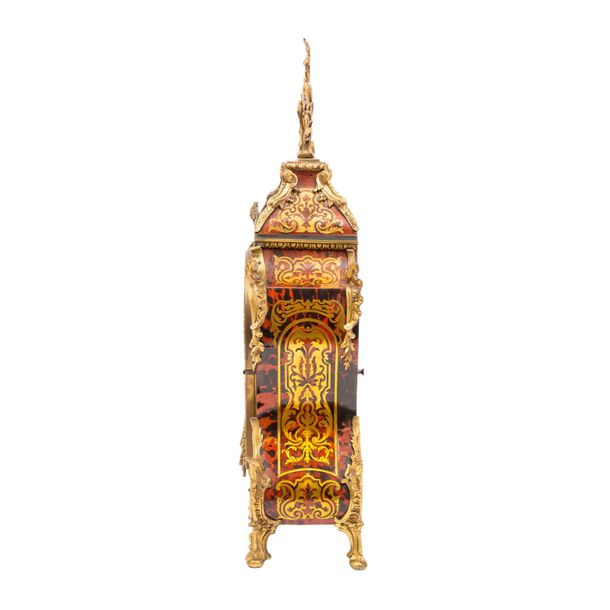 PENDULE IM LOUIS XV STIL PENDULE IN LOUIS XV STYLE  France, end of the 19th cent…