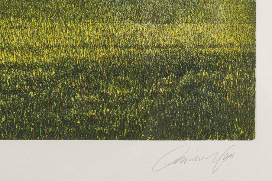 Glimpse of the English countryside20th centuryscreen printing on paperedition 23…