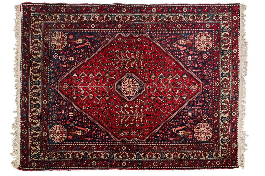 Persian carpet AbadehContemporary manufacturingwool on cottonstylized design2 17…