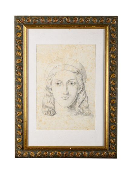 Umberto Brunelleschi ( 1897 1949) Male portrait 1929pencil on laid papersigned a…