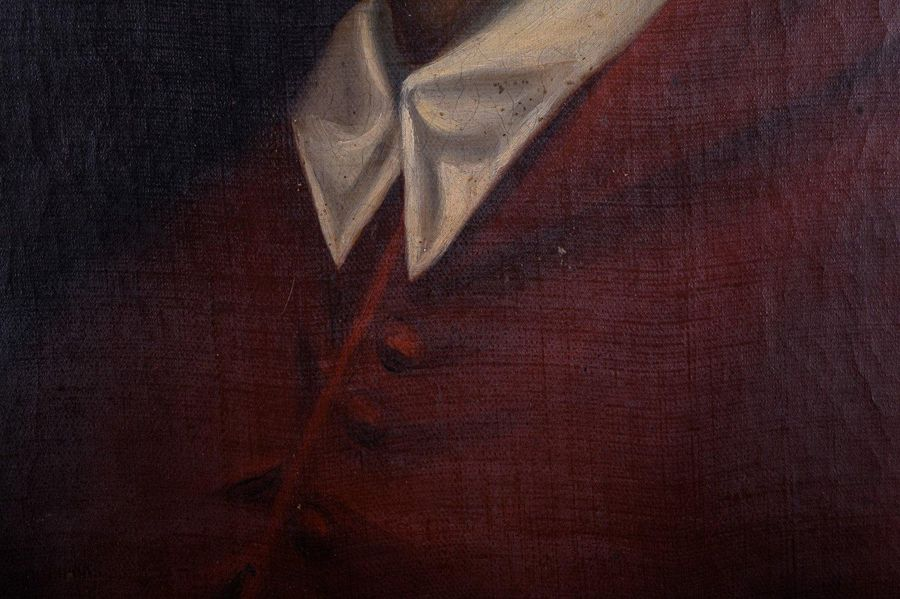 Portrait of a cardinal 1869oil painting on canvassigned on the back Vincenzo Ros…