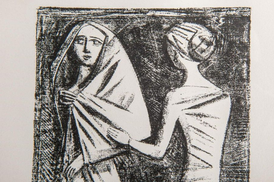 Massimo Campigli ( 1895 197 1) Prayer to Aphroditeabout 1944lithograph on paperf…