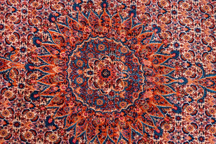 Persian carpet Mud20th centurywool on cottonMahi design330 x 2 16 cm