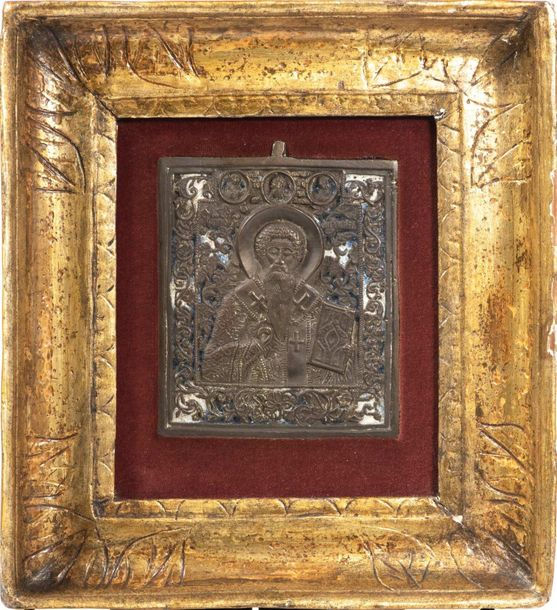 Icon of Sant'AntipaRussia, second half of the 19th century