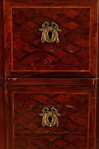 Cabinet Napoleon IIIFrance, mid 19th centurythree drawers with geometric pattern…
