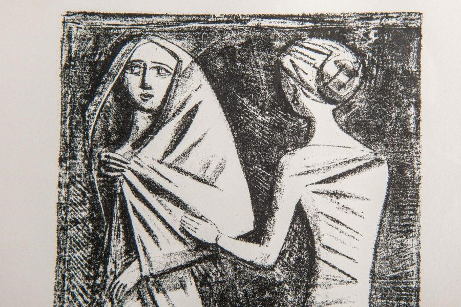 Massimo Campigli (1895 1971) Prayer to Aphroditeabout 1944 lithograph on paperfr…