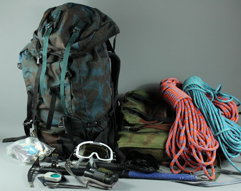 Professional Mountaineering Kit, as used in the Alps and Karakoram mountain rang…