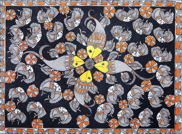 Madhubani Paintings came from a long tradition of art from the Mithila region of…